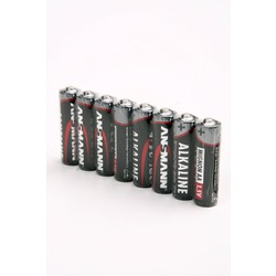 Батарейка бытовая стандартных типоразмеров ANSMANN RED 5015280 LR6 SR8, в упак 80 шт
