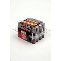 Батарейка бытовая стандартных типоразмеров ANSMANN RED 5015548 LR6 в пласт. боксе 20 шт