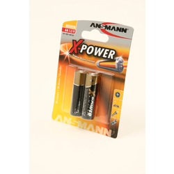 Батарейка бытовая стандартных типоразмеров ANSMANN X-POWER 5015613 LR6 BL2
