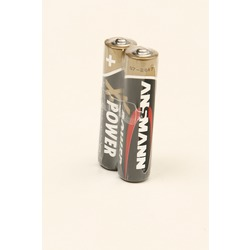 Батарейка бытовая стандартных типоразмеров ANSMANN X-POWER 5015671 LR03 SR2, в упак 20 шт