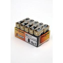 Батарейка бытовая стандартных типоразмеров ANSMANN X-POWER 5015711 6LR61 SR10