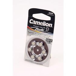 Батарейка воздушно-цинковая Camelion A312-BP6 BL6