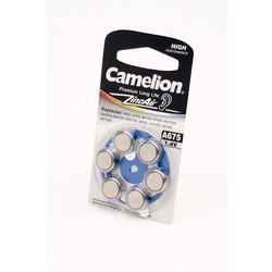 Батарейка воздушно-цинковая Camelion A675-BP6 BL6