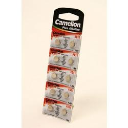 Батарейка алкалиновая часовая Camelion AG11-BP10 AG 11 362 BL10