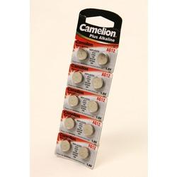 Батарейка алкалиновая часовая Camelion AG12-BP10 AG 12 386 BL10