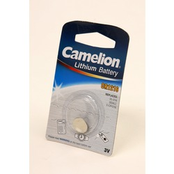 Батарейка дисковая литиевая Camelion CR1216-BP1 CR1216 BL1