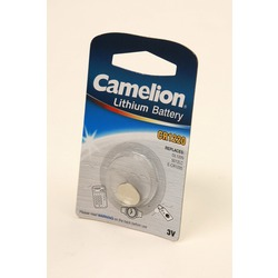 Батарейка дисковая литиевая Camelion CR1220-BP1 CR1220 BL1