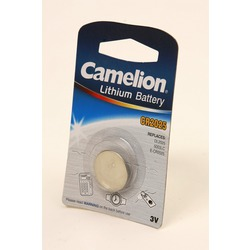 Батарейка дисковая литиевая Camelion CR2025-BP1 CR2025 BL1
