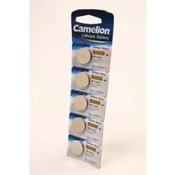 Батарейка дисковая литиевая Camelion CR2025-BP5 CR2025 BL5