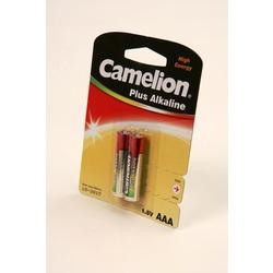 Батарейка бытовая стандартных типоразмеров Camelion Plus Alkaline LR03-BP2 LR03 BL2