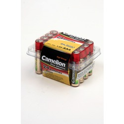 Батарейка бытовая стандартных типоразмеров Camelion Plus Alkaline LR03-PB24 LR03 в пласт. боксе 24 шт