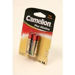Батарейка бытовая стандартных типоразмеров Camelion Plus Alkaline LR6-BP2 LR6 BL2