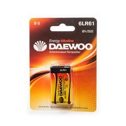 Батарейка бытовая стандартных типоразмеров DAEWOO ENERGY Alkaline 6LR61EA-1B 6LR61 BL1