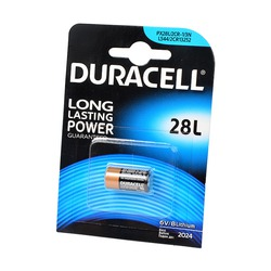 Батарейка фотолитиевая DURACELL 28L BL1
