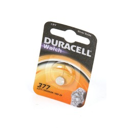 Батарейка серебряно-цинковая часовая DURACELL 377 BL1