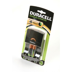 Зарядное устройство с аккумуляторами DURACELL CEF 14+AA1300 mAh 2 шт BL1