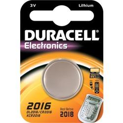Батарейка дисковая литиевая DURACELL CR2016 BL1