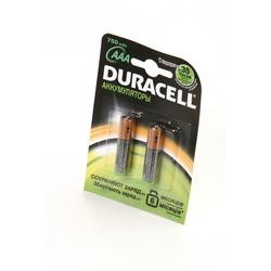 Аккумулятор Ni-MN DURACELL HR03 AAA 750mAh BL2