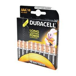 Батарейка бытовая стандартных типоразмеров DURACELL LR03 BL18