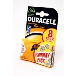 Батарейка бытовая стандартных типоразмеров DURACELL LR03 BL8