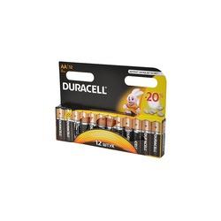 Батарейка бытовая стандартных типоразмеров DURACELL LR6 BL12