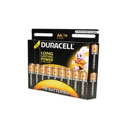 Батарейка бытовая стандартных типоразмеров DURACELL LR6 BL18
