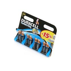 Батарейка бытовая стандартных типоразмеров DURACELL TURBO MAX LR6 BL8