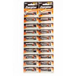 Батарейка бытовая стандартных типоразмеров Energizer + Power Seal LR6 BL20