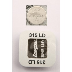 Батарейка серебряно-цинковая часовая Energizer 315 LD