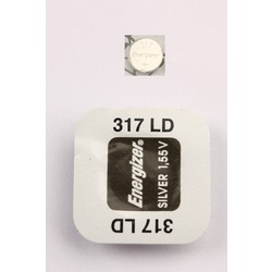 Батарейка серебряно-цинковая часовая Energizer 317 LD