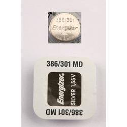 Батарейка серебряно-цинковая часовая Energizer 386/301 MD