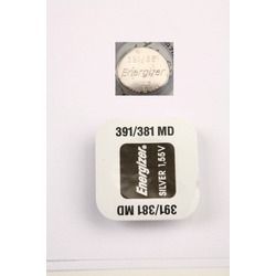 Батарейка серебряно-цинковая часовая Energizer 391/381 MD
