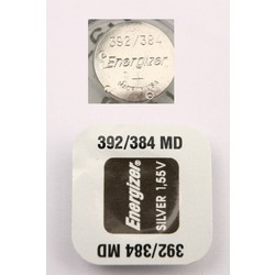 Батарейка серебряно-цинковая часовая Energizer 392/384 MD