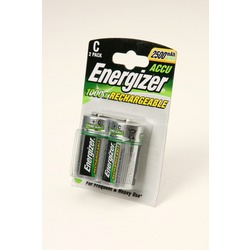 Аккумулятор Ni-MN Energizer C 2500 mAh BL2