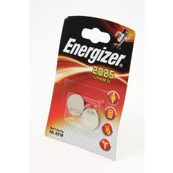 Батарейка дисковая литиевая Energizer CR2025 BL2