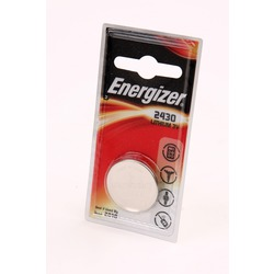Батарейка дисковая литиевая Energizer CR2430 BL1