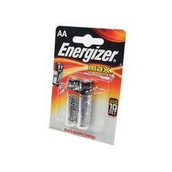 Батарейка бытовая стандартных типоразмеров Energizer MAX+Power Seal LR6 BL2