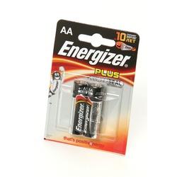 Батарейка бытовая стандартных типоразмеров Energizer Plus+Power Seal LR6 BL2