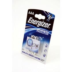Батарейка бытовая стандартных типоразмеров Energizer Ultimate LITHIUM FR03 BL2