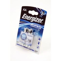 Батарейка бытовая стандартных типоразмеров Energizer Ultimate LITHIUM FR6 BL2