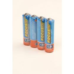 Батарейка бытовая стандартных типоразмеров FOCUSray Dynamic Power R6 SR4, в упак 24 шт