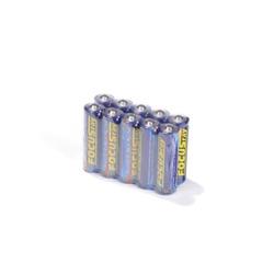 Батарейка бытовая стандартных типоразмеров FOCUSray Super Alkaline 625891 LR6 SR10, в коробке 100 шт