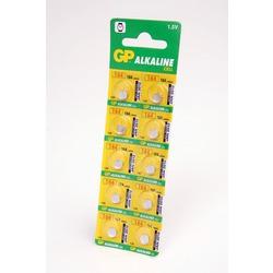 Батарейка алкалиновая часовая GP Alkaline cell 164-C10 AG1 BL10