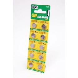 Батарейка алкалиновая часовая GP Alkaline cell 186-C10 AG12 BL10