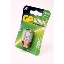 Батарейка бытовая стандартных типоразмеров GP Super 1604A-CR1 6LR61 BL1