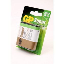 Батарейка бытовая стандартных типоразмеров GP Super 312А-U1 3LR12 BL1
