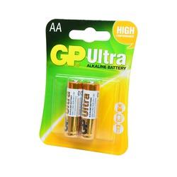 Батарейка бытовая стандартных типоразмеров GP Ultra GP15AU-2UE2 LR6 BL2