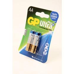 Батарейка бытовая стандартных типоразмеров GP Ultra Plus 15AUP-CR2 LR6 BL2