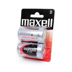 Батарейка бытовая стандартных типоразмеров MAXELL R20 BL2