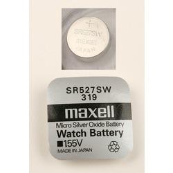 Батарейка серебряно-цинковая часовая MAXELL SR527SW 319